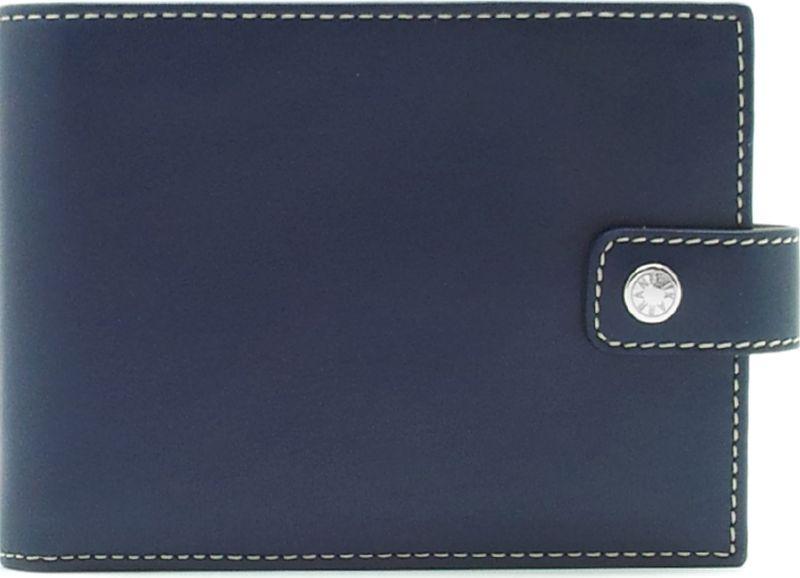 Портмоне мужское Neri Karra, цвет: синий, бежевый. 0356 3-01.09/3-01.650356 3-01.09/3-01.65Портмоне Neri Karra из натуральной кожи выполнено в сочетании двух цветов - синего и бежевого, имеет два отделение для купюр плюс одно потайное, 8 кармашков для карточек,окошко с сеточкой, 3 дополнительных кармана, отделение для мелочи