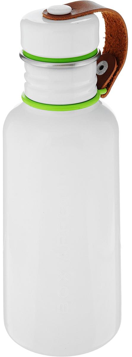 Фляга Black+Blum Box Appetite, цвет: зеленый, белый, 350 млBAM-WB-S002Фляга Black+Blum Box Appetite, изготовленная из нержавеющей стали, выполнена в винтажном стиле. Black+Blum Box Appetite - удобная и экологичная альтернатива одноразовым пластиковым бутылкам. Плотная крышка с ободком из силикона защитит содержимое от протекания и не потеряется благодаря ремешку из искусственной кожи. Объем: 350 мл. Размер фляги: 18,5 х 7 х 7 см.