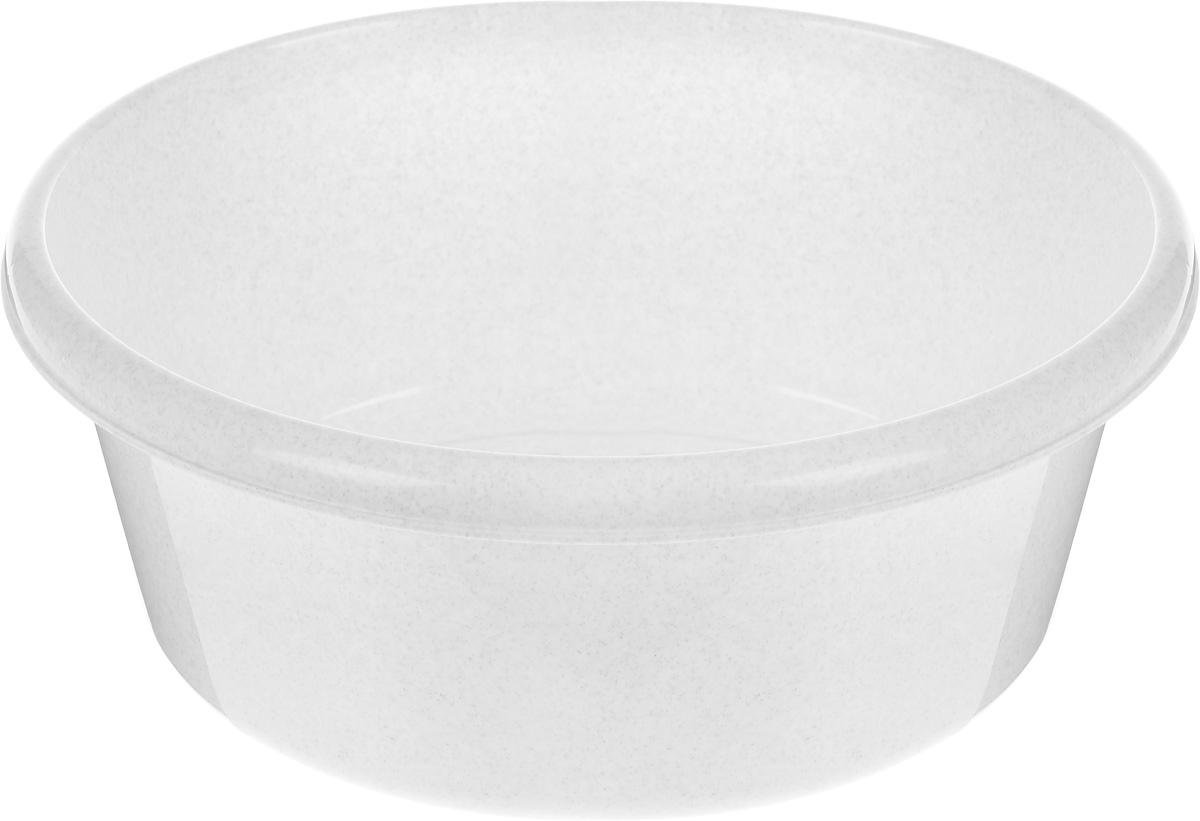 Таз Idea, круглый, цвет: мраморный, 11 лМ 2513Таз Idea выполнен из прочного пластика. Он предназначен для стирки и хранения разных вещей. Также в нем можно мыть фрукты. Такой таз пригодится в любом хозяйстве. Диаметр таза (по верхнему краю): 33 см. Высота стенки: 15 см.