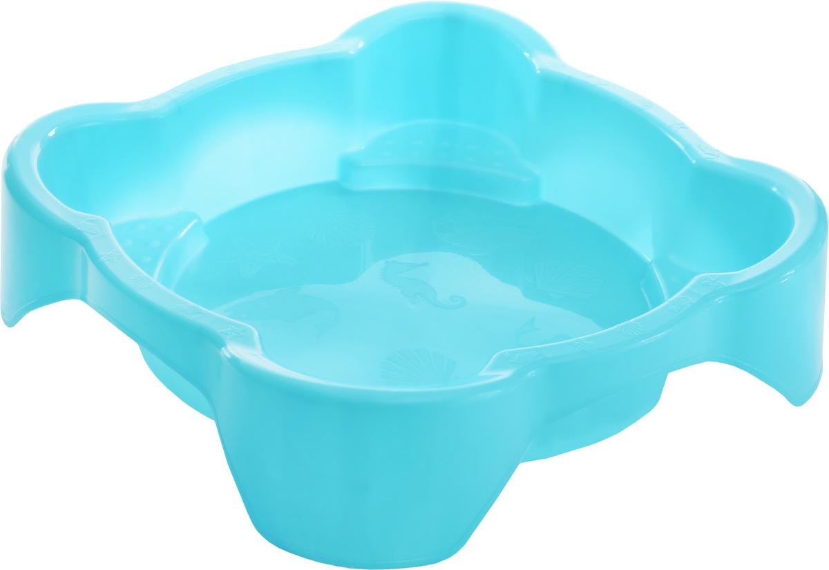 Marian Plast Песочница квадратная с покрытием цвет голубой378_голубойКвадратная песочница от Marian Plast незаменима для игр на воздухе. Высота бортика составляет 25 см, поэтому песочницу можно использовать и как бассейн. Благодаря специальному покрытию, песочница-бассейн будет защищена от внешних воздействий. В комплекте с песочницей также идет защитная пленка, закрывающая песочницу от дождя.