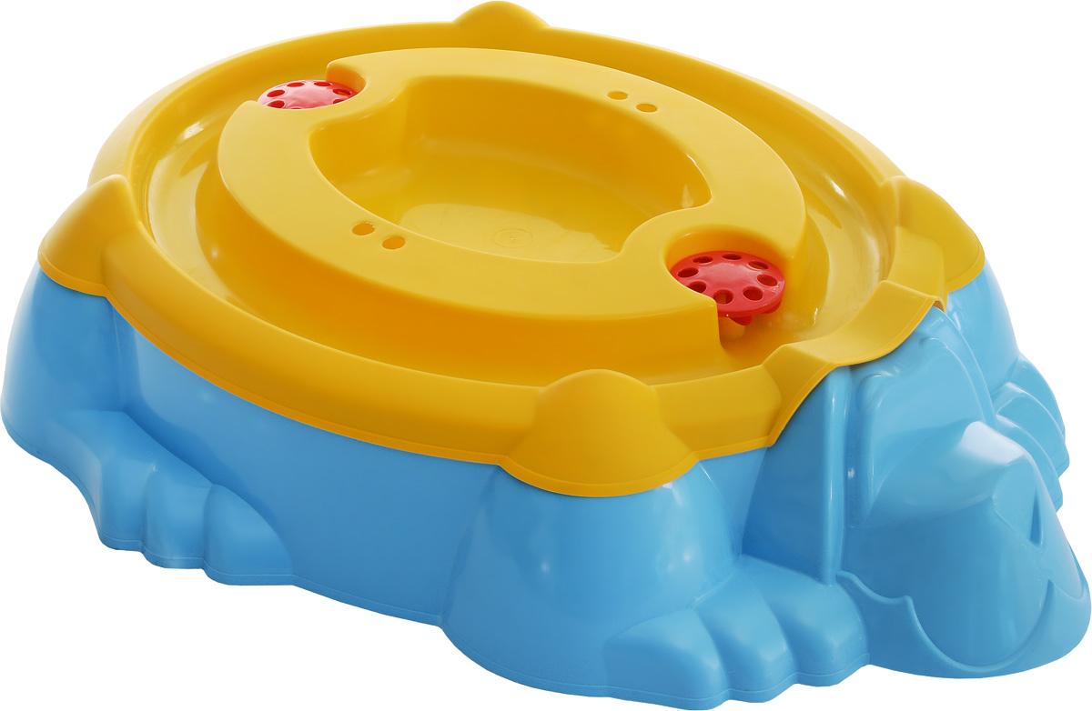 Marian Plast Бассейн-песочница Собачка с крышкой цвет голубой желтый432_голубой, желтыйВы не знаете, что подарить ребенку - бассейн или песочницу? Не нужно делать выбор. Оригинальный бассейн-песочница Marian Plast Собачка обязательно понравится ребенку. Теперь ребенок решает сам - строить ему куличики из песка или купаться в воде. Игрушка прекрасно подойдет для летнего отдыха детей и обеспечит бесконечные часы радости и веселья. Благодаря крышке, бассейн-песочница Marian Plast Собачка будет защищен от внешних воздействий. Изготовлен из качественных и безопасных материалов. В набор входят наклейки.