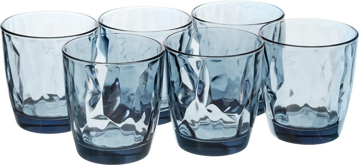 Набор стаканов Bormioli Rocco Даймонд Аква Оушен , цвет: голубой, 6 шт. 350220M02321990350220M02321990