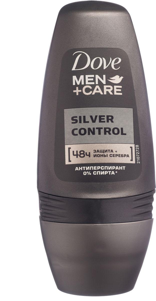 Dove Men+Care Антиперспирант ролл Заряд серебра 50 мл 21131914