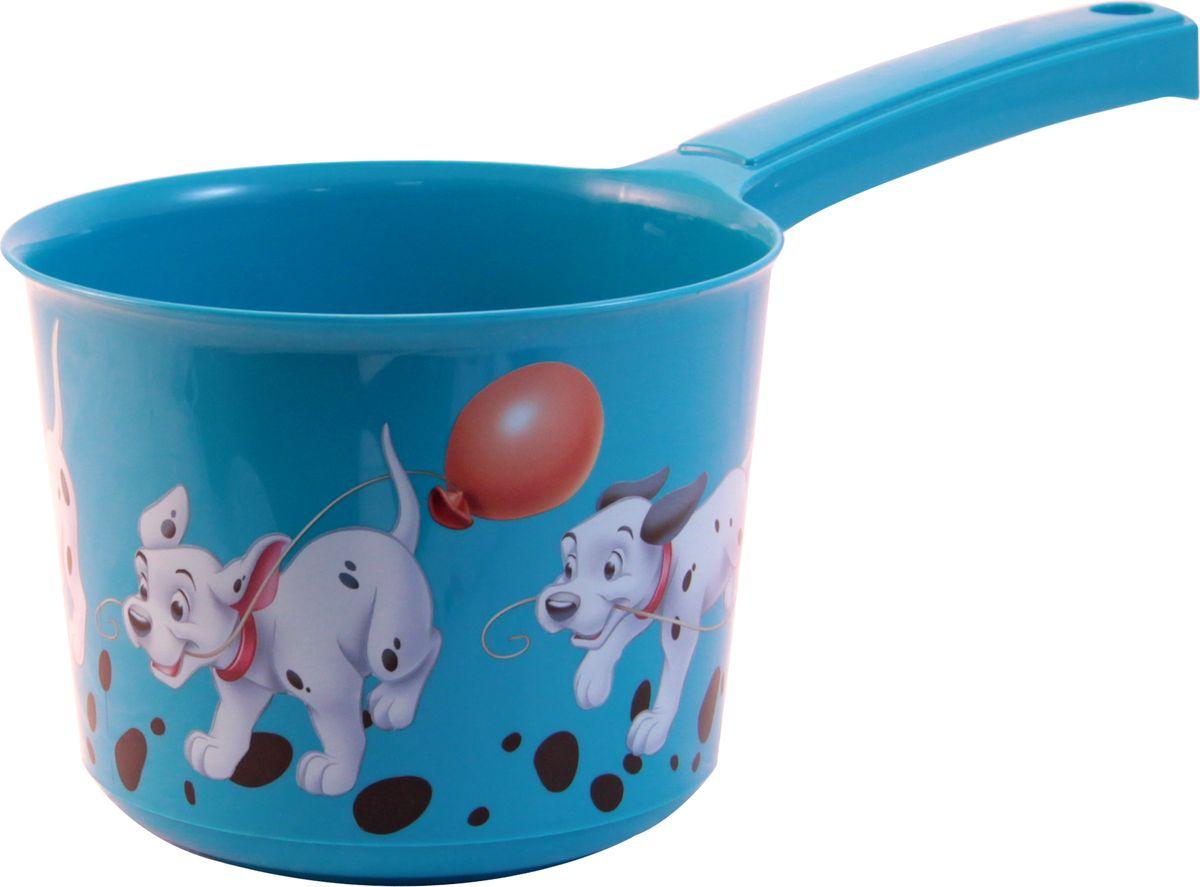 Disney Ковш детский цвет бирюзовый 1,5 л