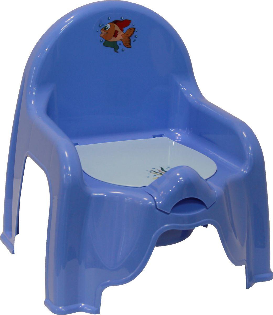 Disney Горшок-стульчик детский цвет сиреневый