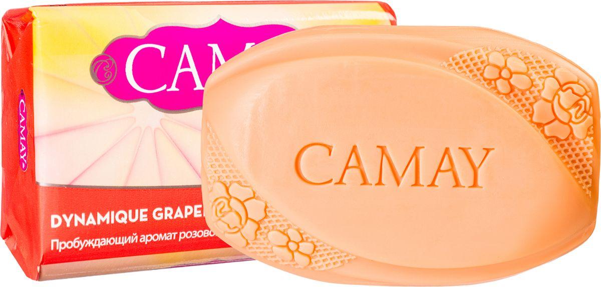 Camay Твердое мыло Grapefruit 85 гр67049448_GrapefruitТуалетное мыло Camay Динамик - бодрящий аромат розового грейпфрута пробуждает эмоции и наполняет энергией и свежестью на весь день.