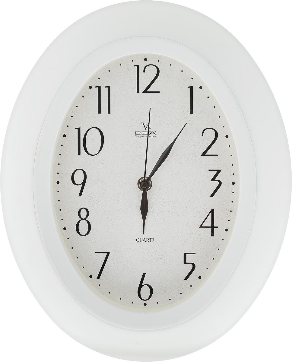 Часы настенные Вега Классика, 34,5 х 27,5 смП5-7/7-21Настенные кварцевые часы Вега Классика, изготовленные из пластика, прекрасно впишутся в интерьер вашего дома. Часы имеют три стрелки: часовую, минутную и секундную, циферблат защищен прозрачным стеклом. Часы работают от 1 батарейки типа АА напряжением 1,5 В (не входит в комплект). Прилагается инструкция по эксплуатации.