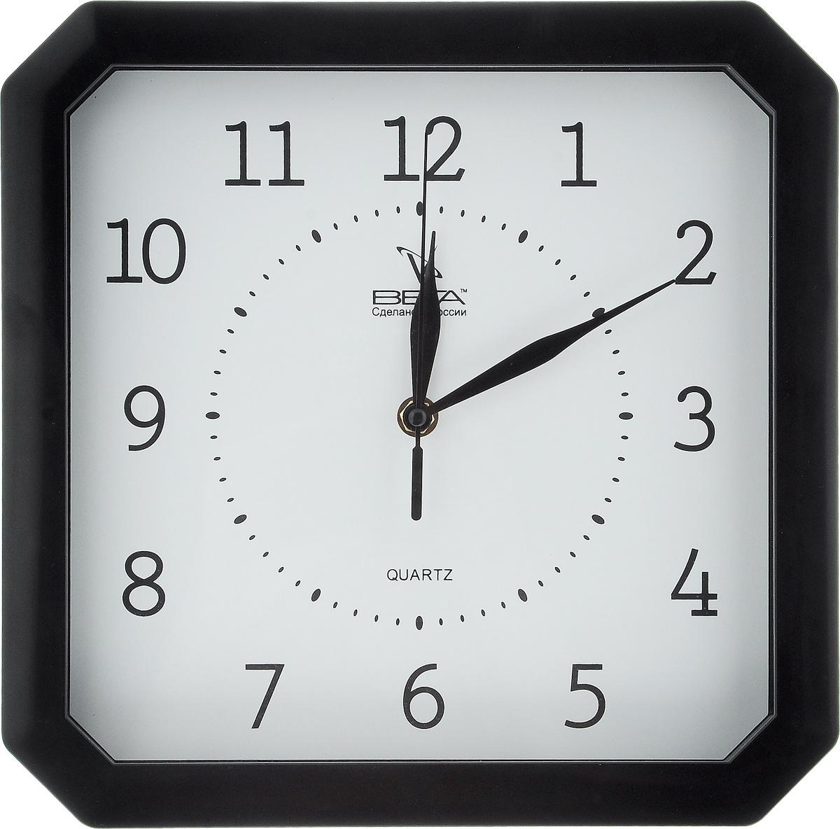 Часы настенные Вега Классика, 27,8 х 27,8 смП4-6/6-19Настенные кварцевые часы Вега Классика, изготовленные из пластика, прекрасно впишутся в интерьер вашего дома. Часы имеют три стрелки: часовую, минутную и секундную, циферблат защищен прозрачным стеклом. Часы работают от 1 батарейки типа АА напряжением 1,5 В (не входит в комплект). Прилагается инструкция по эксплуатации.