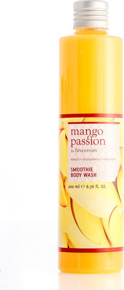 Sranrom Гель-смузи для душа Страстное манго 200 мл140-8003Придайте Вашей коже непревзойденную чистоту и нежный аромат тропиков с новым крем-гелем для душа, богатым витамином С. Превратите Вашу ванную в роскошный манговый сад. Стоит Вам только попробовать манго, и Вы никогда больше его не забудете.