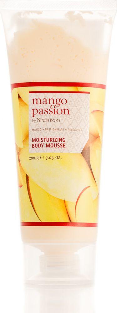Sranrom Мусс для тела Страстное манго 200 гр140-8005Подарите Вашей коже нежное увлажнение с нашим мягким, как хлопок муссом для тела, обладающим роскошными питательными свойствами экстрактов манго, маракуйи и ананаса. Придайте Вашей коже непревзойденную мягкость и восхитительный аромат. Идеально подходит для повседневного использования после освежающего душа. Подарите себе великолепный внешний вид: Разотрите небольшое количество мусса между ладонями. Насладитесь восхитительным ароматом, затем нанесите на чистую кожу.