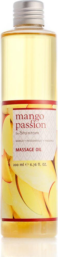 Sranrom Масло для массажа Страстное манго 200 мл140-8012Обретите покой разума и тела после насыщенного дня с нашим восхитительным маслом для массажа. Уникальный аромат манго в сочетании с великолепными питательными свойствами масла рисовых отрубей и масла сладкого миндаля подарит Вам незабываемые мгновения расслабления; почувствуйте, как каждое нежное прикосновение снимает напряжение и глубоко питает Вашу кожу.