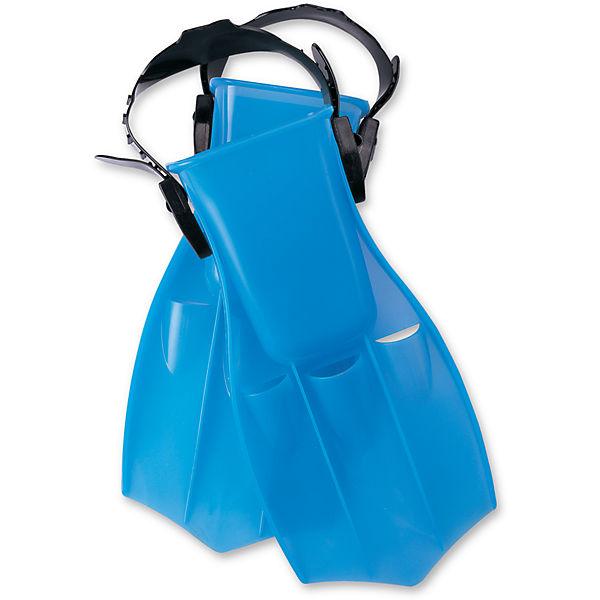 Ласты для плавания детские Bestway Ocean Diver, цвет: голубой. Размер 34/38. 2701227012_голубойДетский ласты для плавания Bestway Ocean Diver - отличный вариант для активного отдыха и увлекательных исследований подводного мира. Плавание в ластах позволяет улучшить положение тела в воде, увеличить скорость, силу ног и гибкость суставов. Ласты Ocean Diver фиксируются с помощью крепежного ремешка на пятке, который позволяет регулировать размер от 34 до 38.