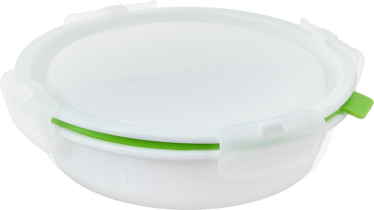 Ланч-бокс Black+Blum Box Appetit, с разделителем, 660 млBAP-RD-S001Ланч-бокс Black+Blum Box Appetit - практичен и функционален. Изделие выполнено из высококачественного пластика и оснащено крышкой с силиконовым уплотнителем. Контейнер оснащен съемной внутренней стенкой, чтобы разделять разные виды пищи. Ланч-бокс прекрасно подходит для разогрева пищи, а также для заморозки. Современный дизайн позволяет брать контейнер с собой на учебу, работу или прогулку. Можно использовать в микроволновой печи, морозильной камере, а также мыть в посудомоечной машине. Объем контейнера: 660 мл. Размер контейнера (с учетом крышки): 19 х 19 х 5,7 см. Диаметр контейнера по верхнему краю: 16 см. Размер разделителя: 15,5 х 2,5 х 4,5 см.