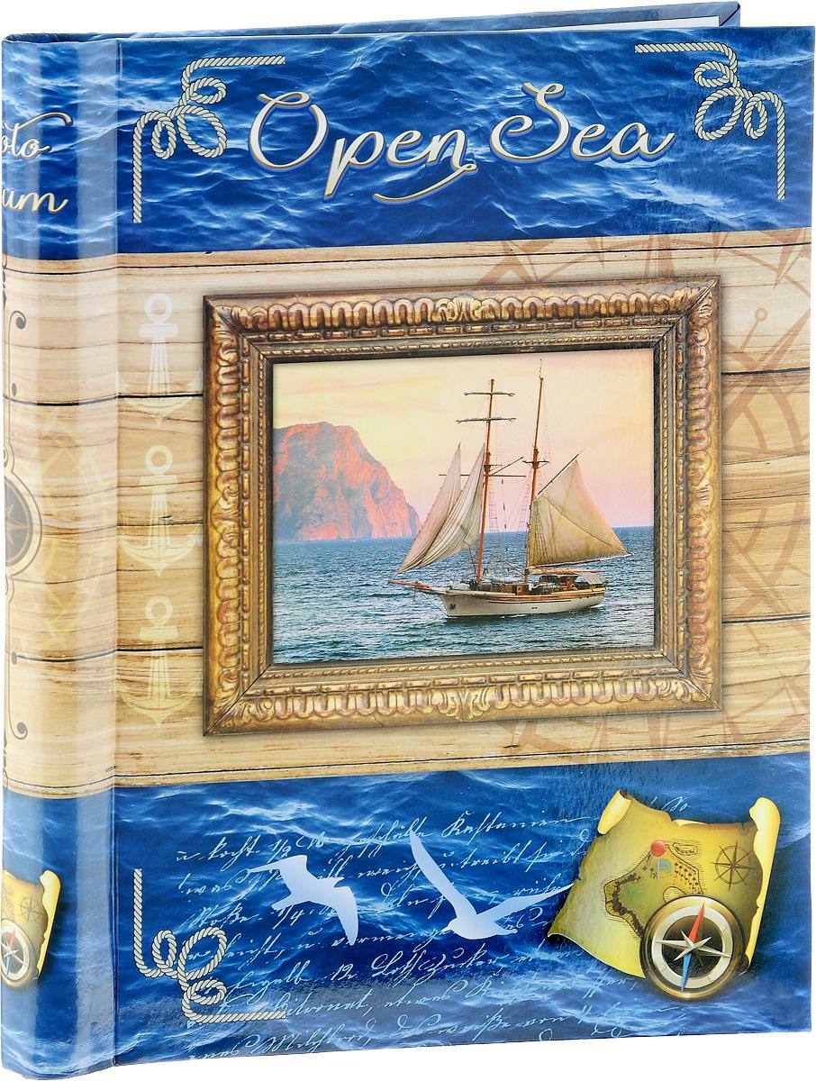 Фотоальбом Big Dog Open Sea, 20 магнитных листов, цвет: бежевый, 23 х 28 смAP202328SA/43637_бежевый