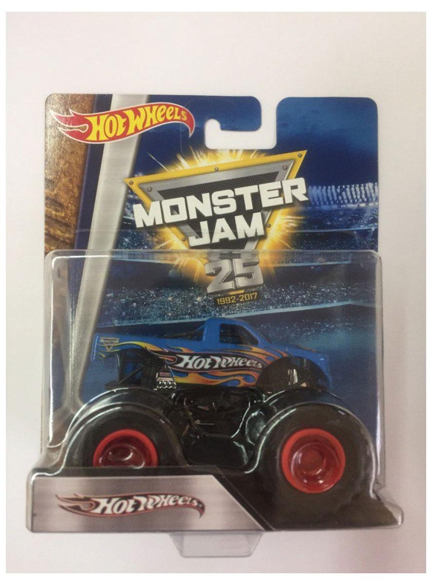 Hot Wheels Monster Jam Машинка RacingBHP37_CFY94Машинка Hot Wheels Monster Jam. Racing - знаменитая модель легендарного автомобиля с большими колесами. Литой корпус, сверкающая кабина, хромированные диски и неповторимый тюнинг - то, что выделяет эту модель среди других. Ваш ребенок будет в восторге от такого подарка!