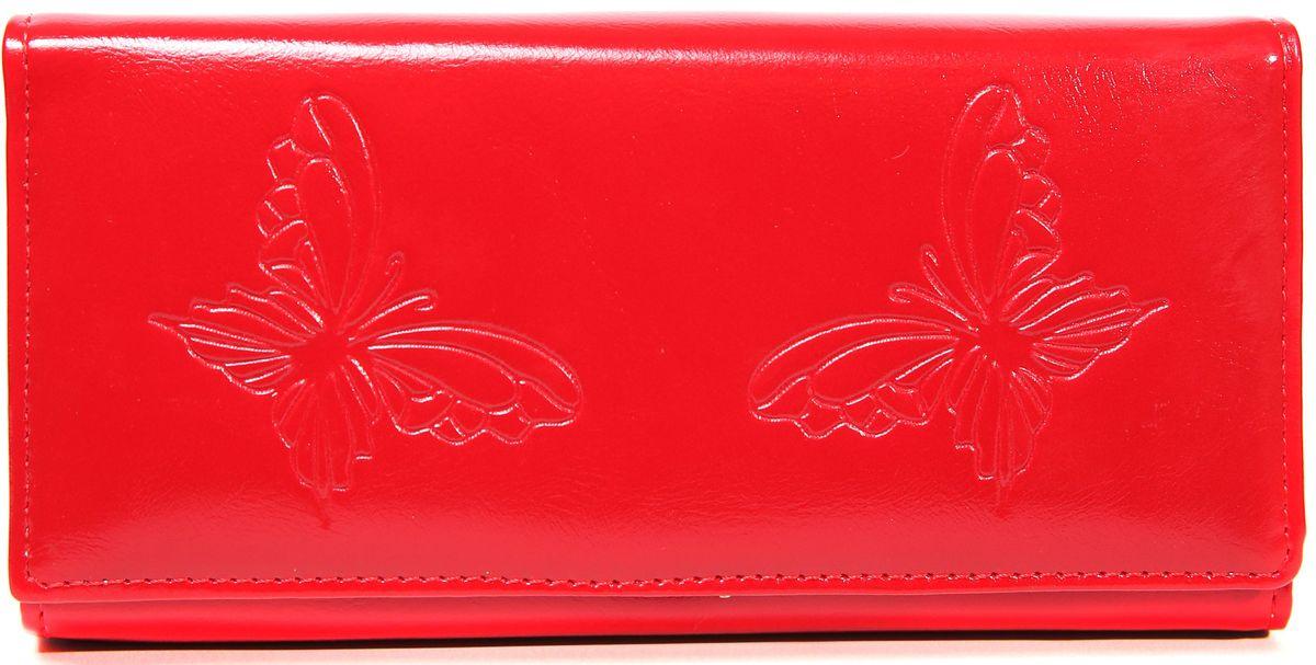 Кошелек женский Mitya Veselkov, цвет: красный. K-RED8K-RED8
