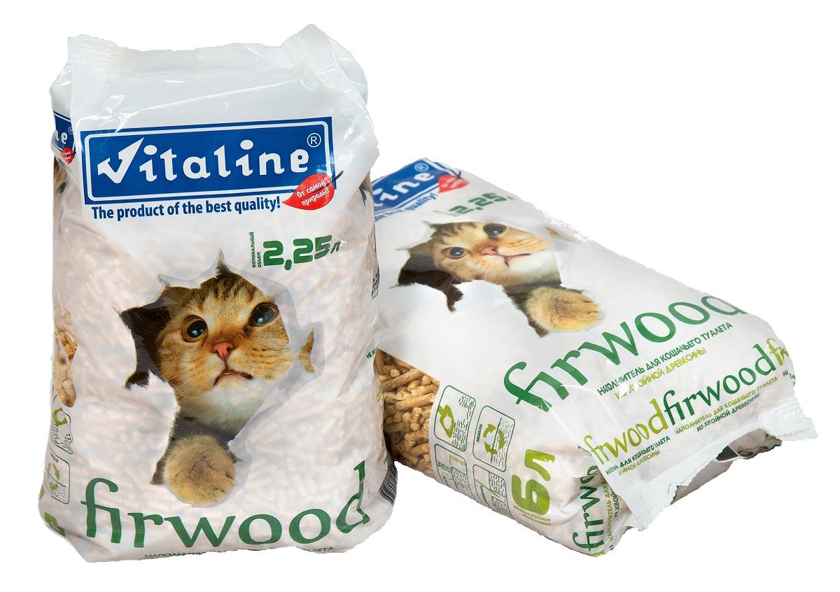 Наполнитель для кошек Vitaline Фирвуд, древесный, 1,5 кг329Наполнитель firwood - это эффективный древесный наполнитель туалетов для кошек, в том числе длинношерстных кошек и котят, а также грызунов и рептилий. Наполнитель изготавливается по современным технологиям, на зарубежном оборудовании с применением измельченной древесной стружки. Гранулы размером 4 мм. Впитывают влагу и могут увеличиваться в размере в 3 раза – таким образом, упаковка весом 4,5 кг. способна впитать 12 литров жидкости! Гранулы не рассыпаются, и не оставляют после себя пыли и грязи. Легкий хвойный запах придется по душе вам и вашему любимцу. Срок годности не менее 10 лет с даты производства.