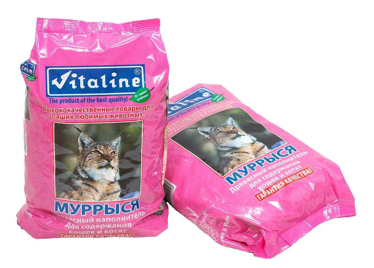 Наполнитель для кошек Vitaline Муррыся, древесный, 1,5 кг331Древесный наполнитель для кошачьих туалетов Муррыся Древесные наполнители относятся к впитывающим наполнителям для кошачьих туалетов, т.е. он впитывают влагу, но не образуют комок, а просто рассыпаются. Безусловный плюс наполнителя Муррыся – это невысокая стоимость, натуральность происхождения и безопасность применения. После использования древесный наполнитель можно сливать в канализацию. Рекомендации к применению: При использовании наполнителя для кошек и котят: - насыпать под решётку слоем 1-2 см - открытым способом 3-5 см Использованный наполнитель не требует особых условий утилизации. Содержимое упаковки не применять в качестве корма.