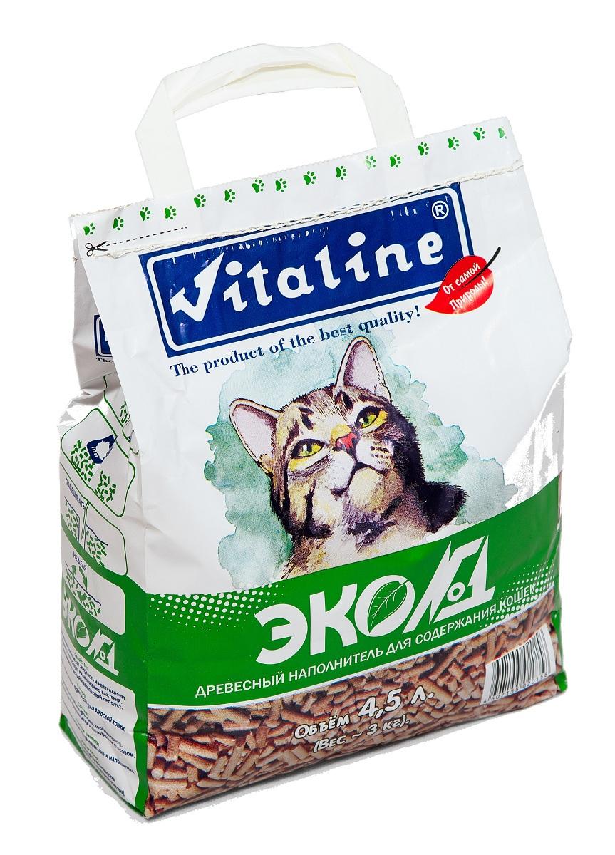 Наполнитель для кошек Vitaline Эко№1, древесный, 3 кг336Эко№1 - универсальное средство для ухода за кошками, грызунами, рептилиями и даже птицами. Наполнитель созданный из массива хвойных пород древесины . 100% БИОЛОГИЧЕСКИ РАЗЛОГАЕМ, не причиняет никакого вреда природе и совершенно безопасен для окружающей среды. Наполнитель Эко№1 нейтрализует неприятные запахи в период между посещениями лотка, сохраняя свежесть кошачьего туалета. Условия хранения: Гигиенический сертификат на упаковочный материал: Хранение при температуре 20C и относительной влажности не более 80%. Срок годности: не менее 5 лет.