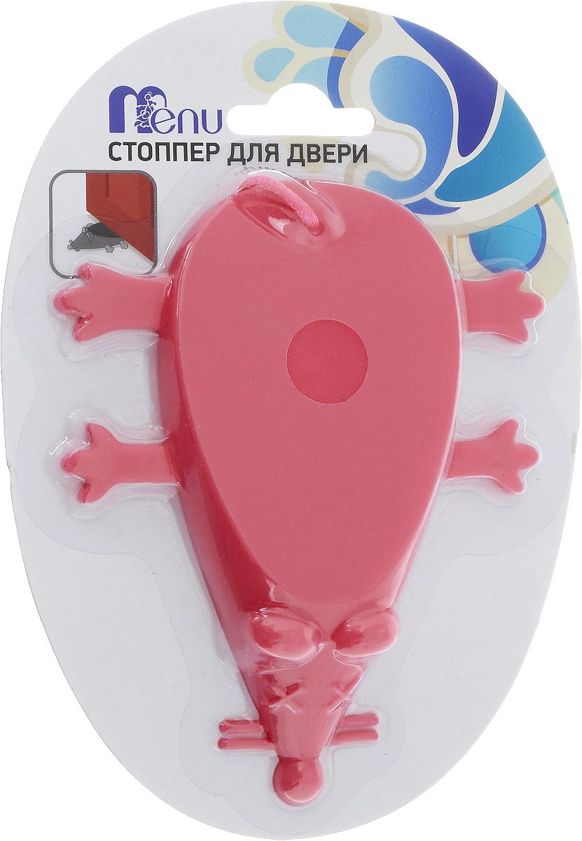 Стоппер для двери Menu Мышь, цвет: розовый, длина 12 смSTP-02_розовыйСтоппер для двери Menu Мышь, изготовленный из силикона и полиэстера, выполнен в форме мыши. Стоппер поможет вам защитить двери и стены от различных повреждений, сколов и царапин. Его также можно использовать для фиксации двери в открытом положении. Изделие не требует специальной установки и впишется в любой интерьер. Мыть вручную в теплой воде с использованием щадящих моющих средств.