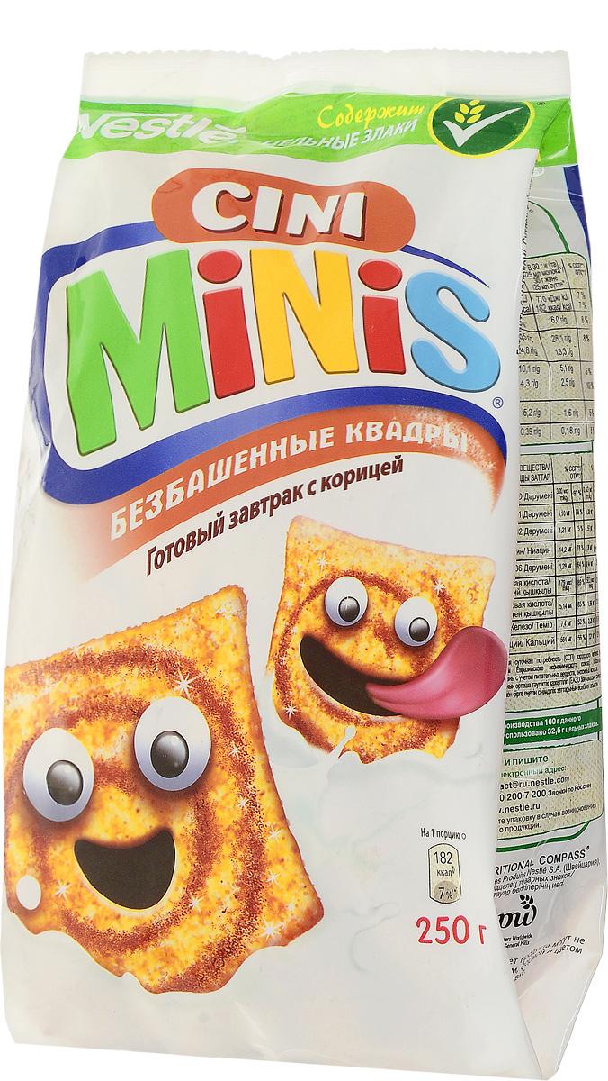Cini Minis готовый завтрак с корицей, 250 г 12301003
