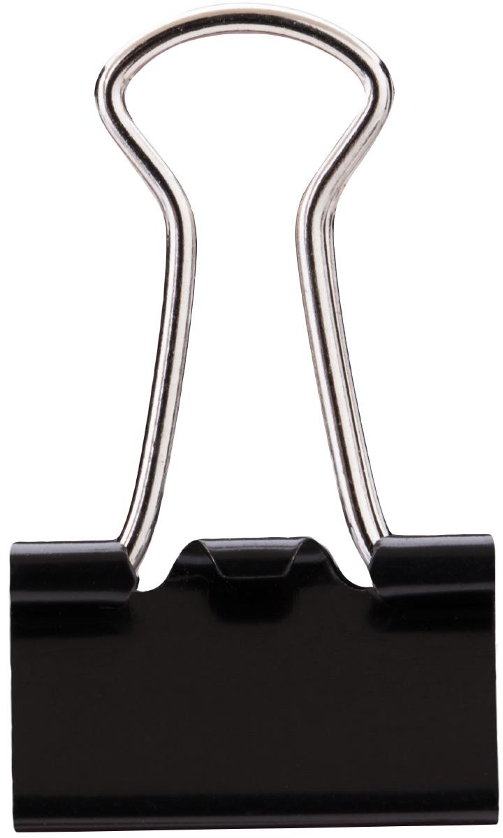 Deli Зажим для бумаг 1,5 см цвет черный 12 штE38566Зажимы металлические с электрофоретическим покрытием, исключающим возникновение царапин, ржавение, разрушение.