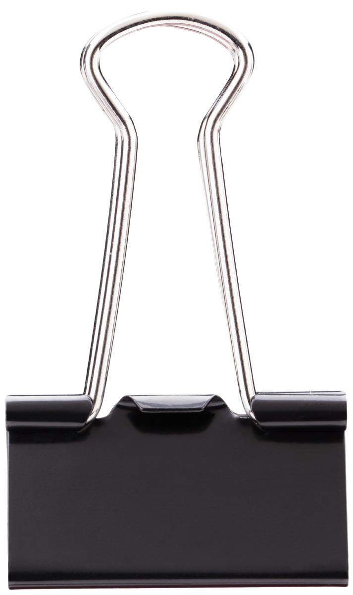 Deli Зажим для бумаг 3,2 см цвет черный 12 штE38563Зажимы металлические с электрофоретическим покрытием, исключающим возникновение царапин, ржавение, разрушение.