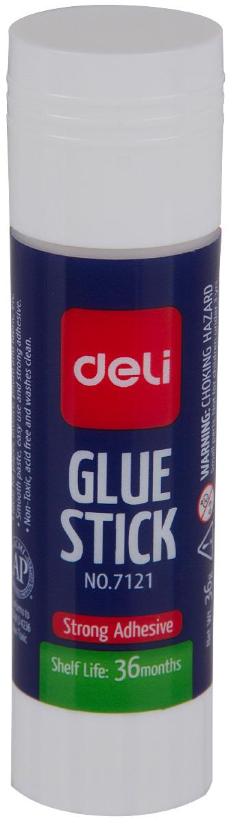 Deli Клей-карандаш 9 гE7121Удобный и практичный клей-карандаш Deli незаменим на рабочем столе. Имеет прозрачную консистенцию, не токсичен. Клей-карандаш экологически безопасен, быстро сохнет и не оставляет следов после высыхания. Вес клея: 9 грамм.