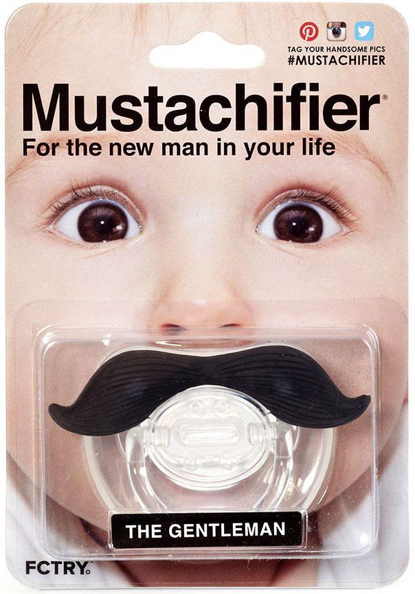 Mustachifier Пустышка ДжентльменPCSTA01