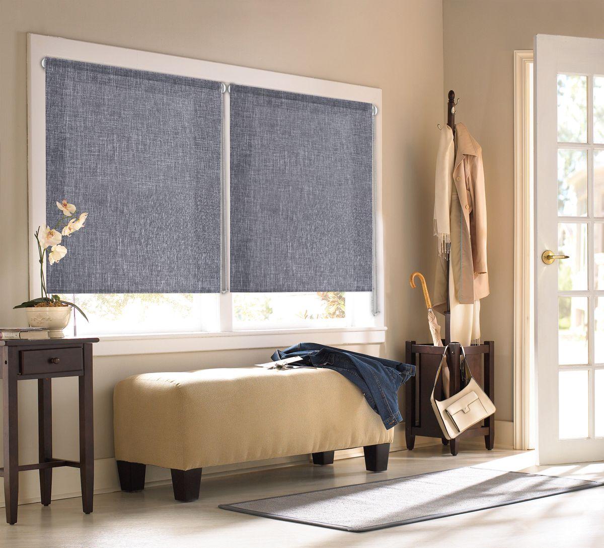 Штора рулонная Эскар Миниролло. Меланж, цвет: серый, ширина 83 см, высота 160 см304948083160Рулонными шторами можно оформлять окна как самостоятельно, так и использовать в комбинации с портьерами. Это поможет предотвратить выгорание дорогой ткани на солнце и соединит функционал рулонных с красотой навесных. Для изготовления рулонных штор используются ткани с различными рисунками и фактурой. Благодаря этому среди моделей рулонных штор для балконов и лоджий довольно большой выбор и вы всегда сможете подобрать для себя оптимальный вариант. Преимущества применения рулонных штор для пластиковых окон: - имеют прекрасный внешний вид: многообразие и фактурность материала изделия отлично смотрятся в любом интерьере; - многофункциональны: есть возможность подобрать шторы способные эффективно защитить комнату от солнца, при этом она не будет слишком темной. - Есть возможность осуществить быстрый монтаж. ВНИМАНИЕ! Размеры ширины изделия указаны по ширине ткани! Для выбора правильного размера необходимо учитывать – ткань должна закрывать оконное стекло на 3 см. Однотонная палитра...