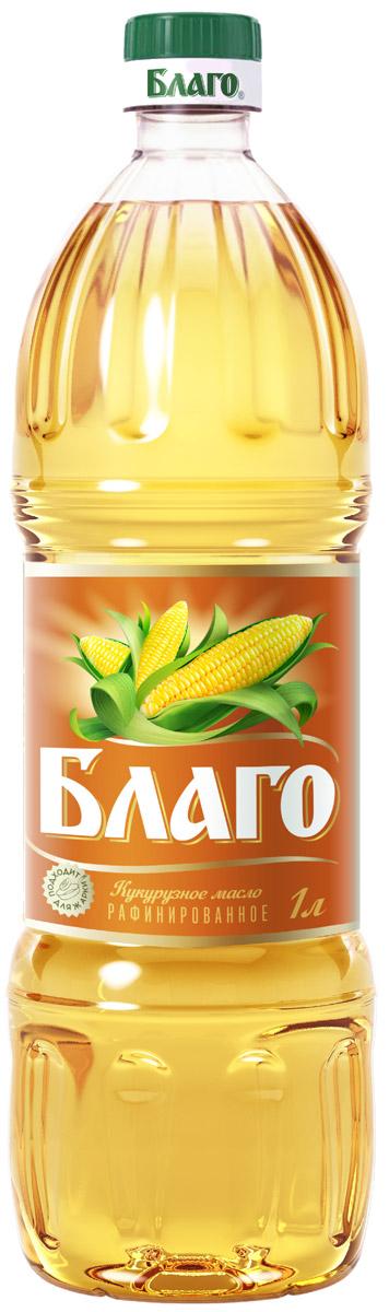 """Благо масло кукурузное рафинированное марка """"П"""", 1л 4607014782043"""