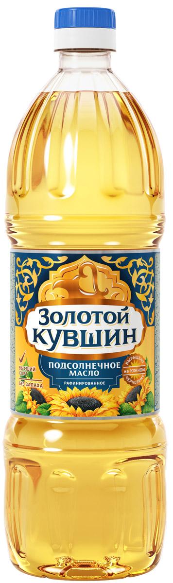 Золотой Кувшин масло подсолнечное рафинированное высший сорт, 1 л