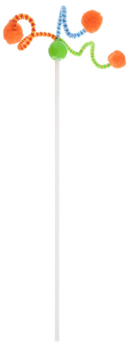 Игрушка для кошек Zoobaloo Дразнилка. Антеннка, длина 50 см108Игрушка для кошки Дразнилка. Антеннка с гибким пластиковым стержнем и помпонами принесет вам и вашей кошке море положительных эмоций. Ваша кошка непременно будет благодарна вам за эту потрясающую игрушку! Длина палки: 37,5 см. Длина с учетом подвески: 50 см. УВАЖАЕМЫЕ КЛИЕНТЫ! Обращаем ваше внимание на возможные изменения в цветовом дизайне, связанные с ассортиментом продукции. Поставка осуществляется в зависимости от наличия на складе.