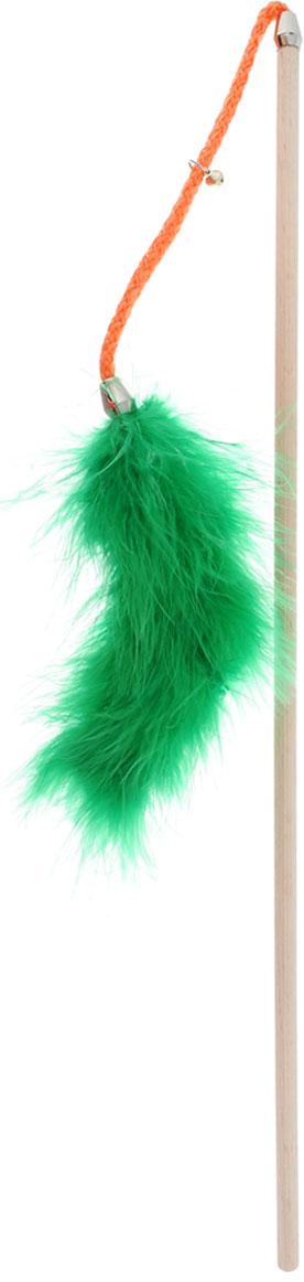 Игрушка для кошек Zoobaloo Бамбук марабу с бубенчиком, длина 75 см133Игрушка для кошек Zoobaloo Бамбук марабу с бубенчиком выполнена из бамбукового стержня с подвешенным на шнурке меховым хвостом. Звук колокольчика привлечет внимание вашего питомца. Дразнилка превосходно развивает охотничьи инстинкты вашей кошки, а также развивает моторику передних лап и когтей. Такая игрушка порадует вашего любимца, а вам доставит массу приятных эмоций, ведь наблюдать за игрой всегда интересно и приятно. Длина стержня: 45 см. Общая длина игрушки: 75 см. УВАЖАЕМЫЕ КЛИЕНТЫ! Обращаем ваше внимание на возможные изменения в цветовом дизайне, связанные с ассортиментом продукции. Поставка осуществляется в зависимости от наличия на складе.