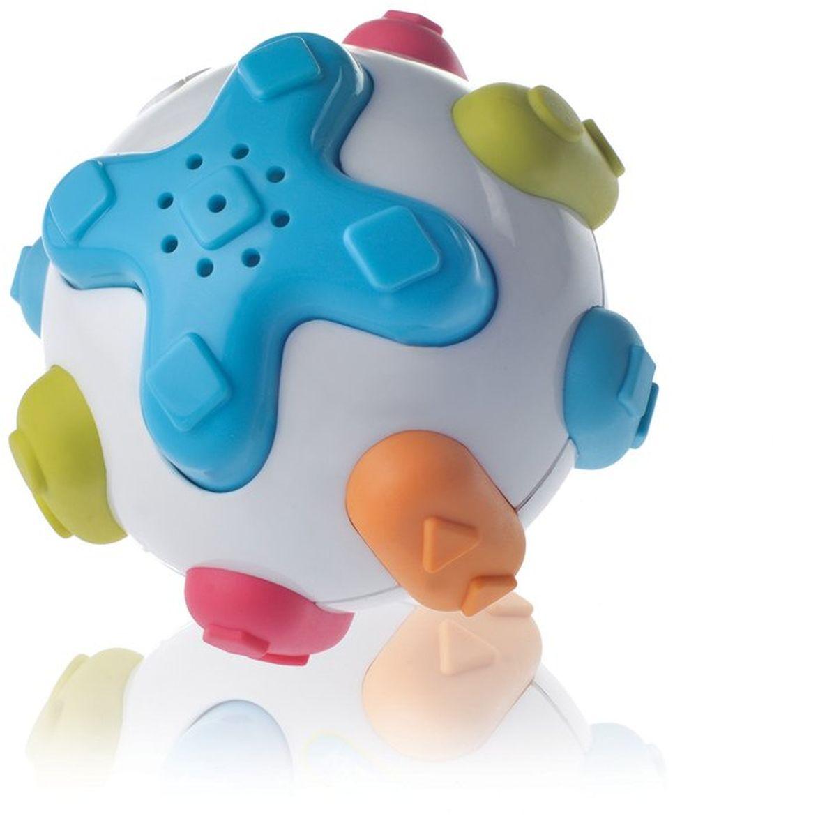Kidsme Развивающая игрушка Слушай и учись9278Используйте кнопки для прослушивания звуков, которые издают животные. - Издает звуки 4 различных животных; - Помогает развивать логику; - Выступающие поверхности для прорезывания зубов; - Тренирует слух и навыки распознавания цветов. Обучающая игрушка сделана из качественных и безопасных для ребенка материалов: Polypropylen, TPR и ABS. Возраст: 6 месяцев