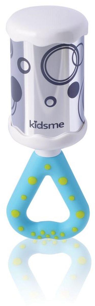 Kidsme Погремушка Зеркальный колокольчик9294Яркая обучающая погремушка Зеркальный колокольчик поможет ребенку весело и с пользой провести время. Зеркальная поверхность и приятный звук приковывает внимание малыша. - Удобная мягкая ручка для прорезывания зубов; - Помогает стимулировать координацию движений рук; - Тренирует зрительное восприятие и слух; - Помогает детям развивать внимательность и познавать мир. Обучающая игрушка сделана из качественных и безопасных для ребенка материалов: Polypropylen и ABS. Возраст: 3 месяца
