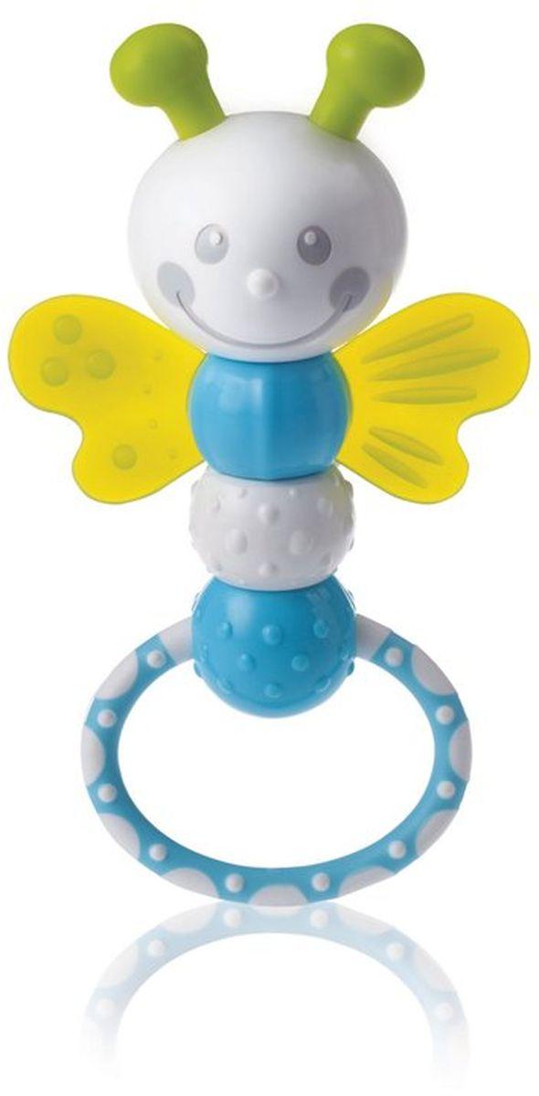 Kidsme Прорезыватель Стрекоза9728Потяните кольцо, чтобы игрушка начала двигаться, и издавать приятный звук! - Удобная ручка и приятный звук; - 6 различных поверхностей для прорезывания зубов; - Развивает мелкую моторику рук; - Помогает научиться распознавать различные поверхности, звуки и их эффект. Прорезыватель сделан из качественных и безопасных для ребенка материалов: Polypropylen, EVA, GPPS, TRE и ABS. Возраст: 3 месяца