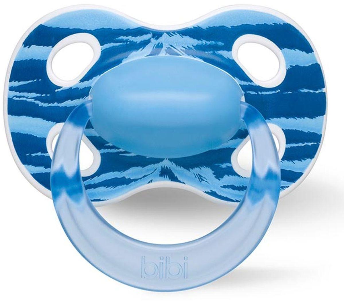 Bibi Пустышка силиконовая Happiness Ring Wild Baby от 0 до 6 месяцев114060