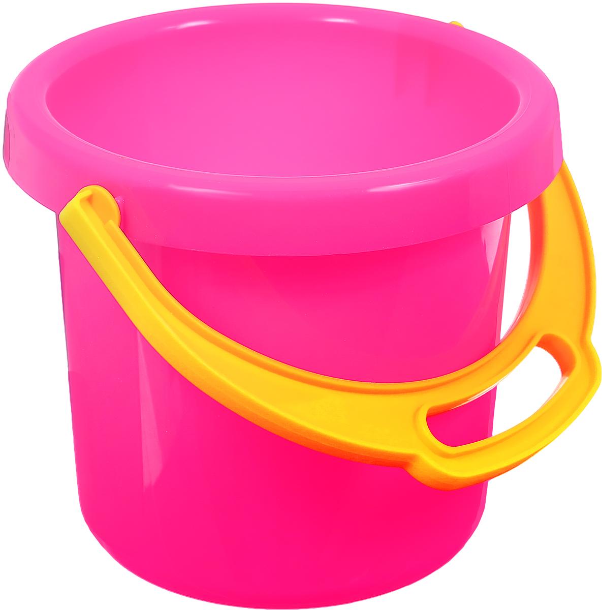Stellar Ведро цвет розовый 1,4 л1222_розовыйДетское ведро Stellar привлечет внимание вашего ребенка и станет незаменимым аксессуаром его игр в песочнице. Ведро выполнено из безопасного материала, с помощью которого ребенок сможет переносить песок и воду, лепить замки и многое другое. С таким аксессуаром игры на свежем воздухе принесут вашему малышу одно удовольствие! Объем ведра: 1,4 л.