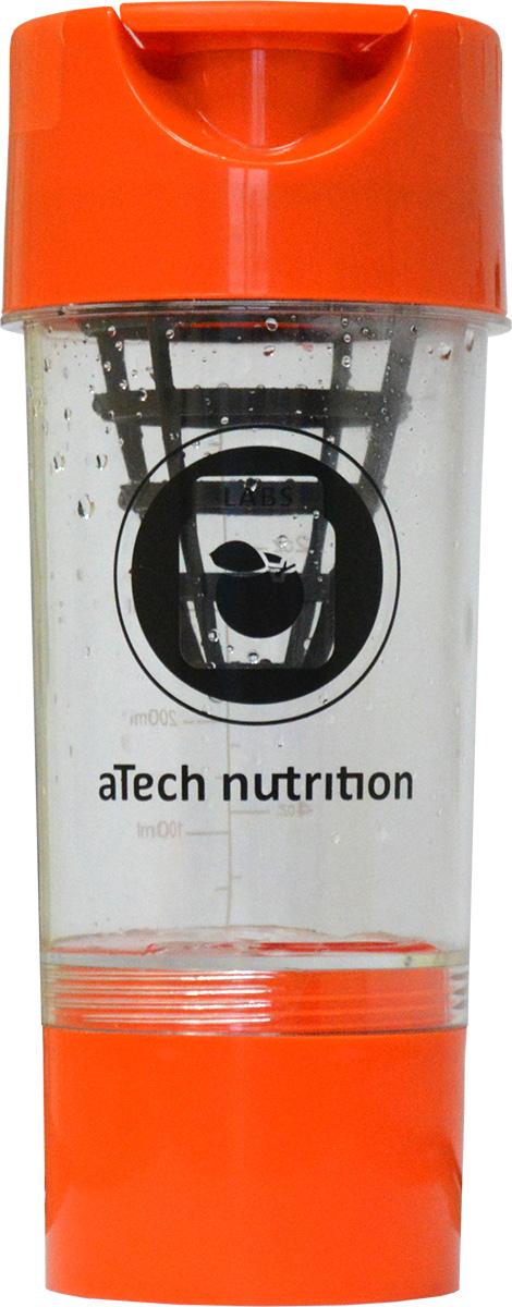 Шейкер aTech Nutrition Циклон, 0,6 л4630019671463Современный шейкер типа циклон станет вашим незаменимым помощником в любом приключении! Сетка в виде конуса обеспечит максимально быстрое и качественное перемешивание содержимого шейкера. Объём дополниетльного контейнера составляет порядка 200 мг. В нем Вы можете хранить спортивные добавки. Когда они Вам понадобится, просто открутите контейнер и высыпьте всё содержимое в шейкер. Теперь, заместо употребления фастфуда, Вы сможете подзарядить ум и тело здоровым и полезным источником энергии, где угодно, когда угодно. На прозрачной колбе шейкера нанесена мерная шкала с легко читаемыми данными. Его прочная конструкция и герметичная крышка позволит вам использовать его с легкостью снова и снова!