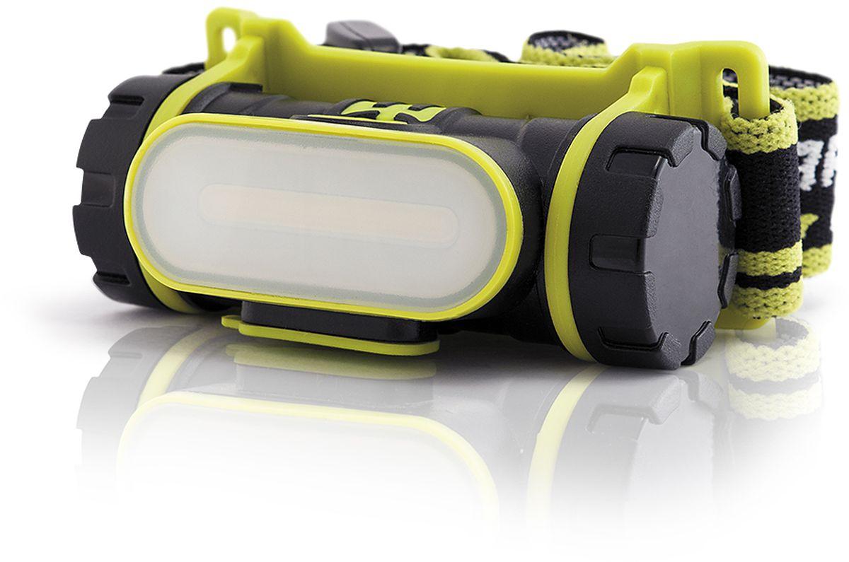 Фонарь налобный Яркий Луч LH-190A. Cobra4606400105510Аккумуляторный налобный фонарь LH-190A COBRA ? Современный светодиод Cob ? Нейтральный свет, приближенный к солнечному (4500К) ? Питание от Li-Ion аккумулятора формата 18650 (аккумулятор 2200 мАч входит в комплект) ? Три режима работы: 190, 60 и 10 лм ? USB-кабель (входит в комплект) ? Индикатор заряда аккумулятора