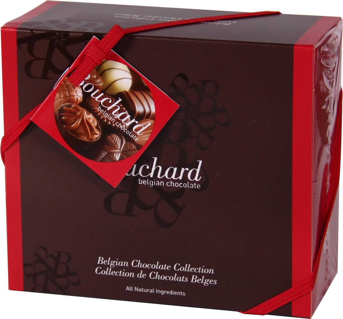 Bouchard Ассорти Премиум Бельгийская Шоколадная коллекция, 250 г50580101Восхитительные бельгийские шоколадные конфеты BOUCHARD L'ESCAUT Ассорти Премиум произведут впечатление на самого разборчивого знатока шоколада. Конфеты Bouchard наполнены нежнейшим кремом с добавлением миндаля и фундука. Покрыты изысканным бельгийским шоколадом. Отличаются ароматом ванили и насыщенным вкусом с притягательной терпкостью. Бельгийцы - непревзойденные мастера в приготовлении шоколада - считают это лакомство лучшим подарком. Нежный, буквально тающий во рту, он доставит удовольствие всем любителям сладкого.