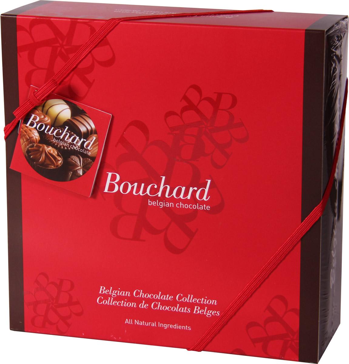 Bouchard Ассорти Премиум Бельгийская Шоколадная коллекция, 500 г50580102Премиальная Бельгийская Шоколадная коллекция