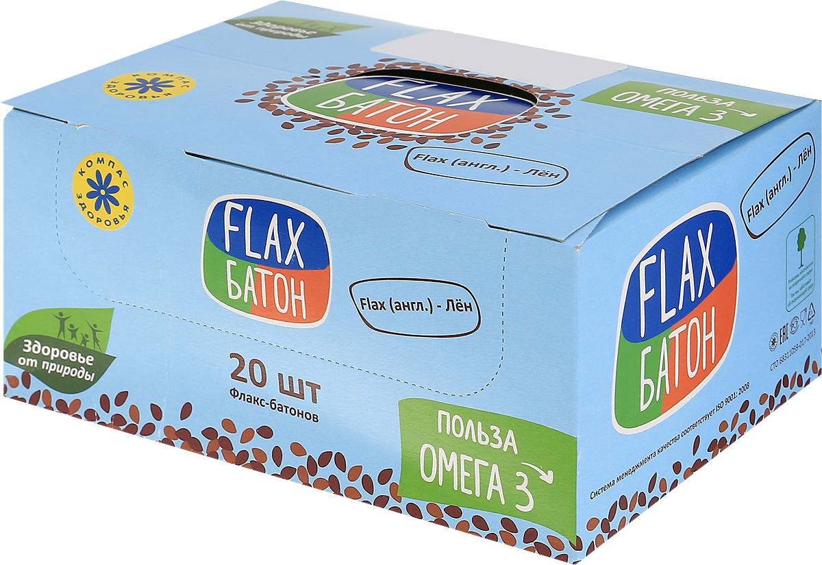 Компас Здоровья Лимон флакс-батон, 600 г (20 шт по 30 г)УТ000001298Лён – лучший источник незаменимой Омега 3. Омега 3 – основа оболочки каждой человеческой клетки. Она не синтезируется в организме, поэтому должна присутствовать в пище в достаточном количестве. В Флакс-батоне Лимон нет вредных консервантов, красителей, ГМО. Натуральный батончик содержит много полезного магния, фосфора, калия и кальция, помогает легче переносить стрессы, зрительные и умственные нагрузки. Уважаемые клиенты! Обращаем ваше внимание, что полный перечень состава продукта представлен на дополнительном изображении.