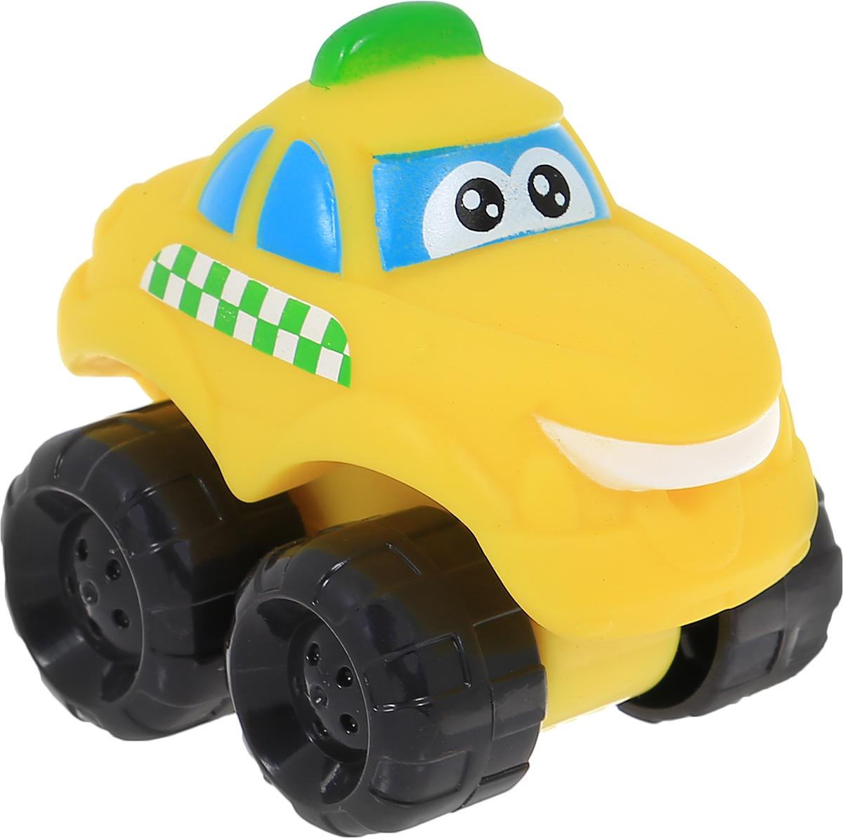Chuck & Friends Машинка The Taxi Honker96085_96115Машинка Chuck & Friends The Taxi Honker особенно понравится юным любителям мультипликационного сериала Чак и его друзья, который рассказывает о приключениях добродушных машинок. Машинка окрашена в яркий желтый цвет. С такой забавной машинкой малыш сможет придумать множество различных сюжетов для игр. Игрушка изготовлена из качественного и безопасного материала.