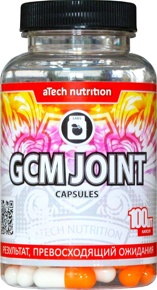Пищевая добавка aTech Nutrition Glucosamine + Chondroitine + MCM, 100 капсул4630019671395GCM JOINT Caps это хондропротектор третьего поколения, выпускаемый в форме капсул компанией aTech nutrition. По составу капсульный и таблетированный хондропротекторы практически идентичны. Данный препарат разработан не только для атлетов, но и для людей, ведущих активный образ жизни. Разработанный продукт отлично подходит для предупреждения любых негативных преобразований в связках и суставах, в том числе, развитие и профилактика остеоартрита. GCM JOINT Caps от aTech nutrition содержит все необходимые для этого элементы: – хондроитин сульфат – осуществляет питание и ускоренную регенерацию хрящевой ткани, обеспечивает скольжение суставных поверхностей, устраняет боли в суставах; – глюкозамин сульфат – укрепляет соединительную ткань, делая ее более прочной и устойчивой к растяжению, укрепляет связки, сухожилия, кости, укрепляет иммунную систему организма; – метилсульфонилметан (MSM) – устраняет болевые ощущения и подавляет воспалительные процессы; – кальций – входит в состав костей и...
