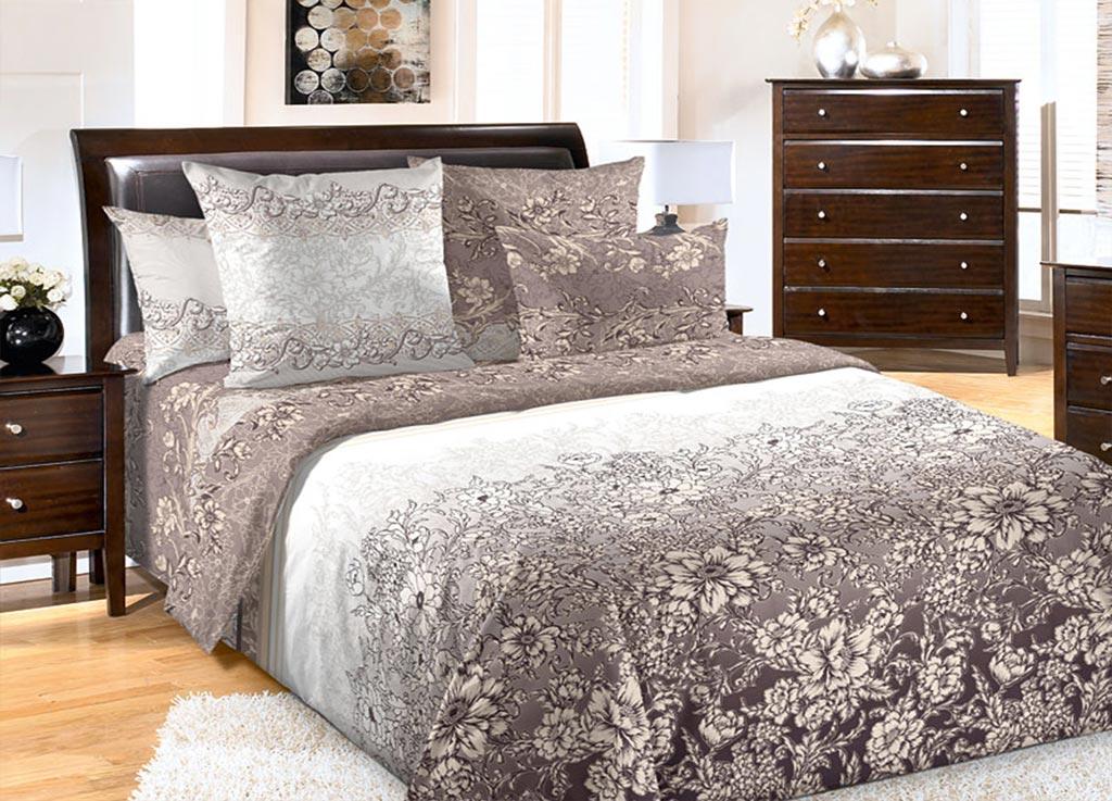 Комплект белья Primavera Воспоминания , 1,5-спальный, наволочки 70x70, цвет: серый89961