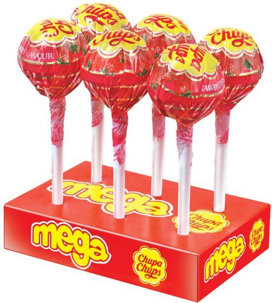 Chupa Chups карамель Mega, 736 г8301958Кaрамель Чупа Чупс Мега со вкусом клубники.