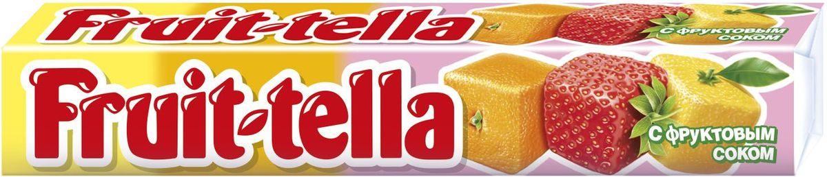 Fruittella Ассорти конфеты жевательные, 41 г8252917Жевaтельные конфеты Fruittella Ассорти придется по вкусу всем любителям сладостей. Fruittella имеет насыщенный и очень сочный вкус различных ягод и фруктов.
