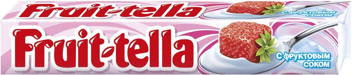 Fruittella Йогурт конфеты жевательные, 41 г